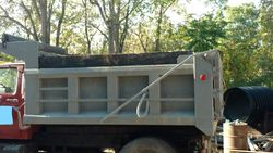 Dump Truck Tarp Arm System