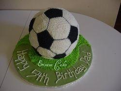 Soccer ball Cake(SP059)