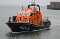 New Molefre Lifeboat Kiwi at Rosslare Harbour