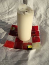 Small Candle Plate