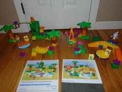 LEGO DUPLO Dora and Boots at Play Park 7332 & Dora and Diego's Animal Adventure 7333- $40