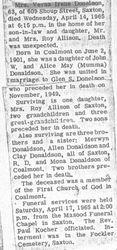 Donelson, Verna Donaldson 1965
