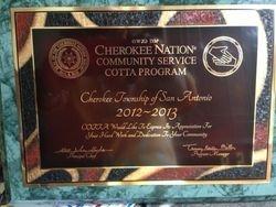 CNCSCP 2012-2013 Plaque