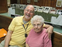 Dave Jerman and his mother Alamay.
