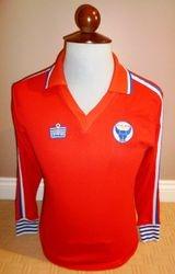 match worn 1978 oxford united admiral away shirt