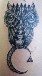 Jenn's Lace Owl
