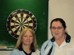 A Grade Ladies Doubles Winners - Connie Spinks & Josphine O'Neil