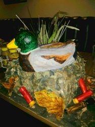 Duck Blind Cake
