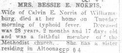 Norris, Bessie E. 1980