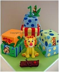 Millies Jungle cake