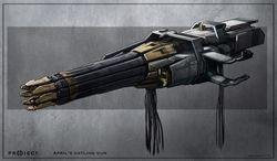 Klingon heavy disruptor