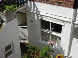 Wren cottage from garden