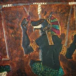 Egyptian bag close up