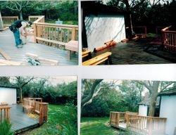 back yard repair