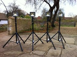 Flood lighting Hire Lincolnshire