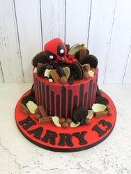 Harry's 13th Birthday Cake
