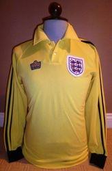 England 1978 Match worn goalie shirt