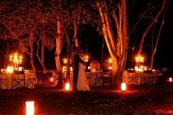wedding in bush