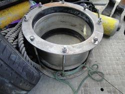 Pipe repair clamp Outfall pipe