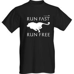 RUN FAST RUN FREE (lion)
