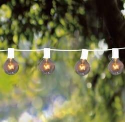 White Mini Globe Lights