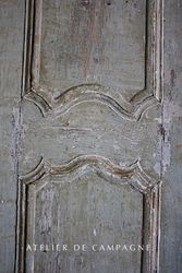 #29/230 FRENCH ARMOIRE DOORS DETAIL