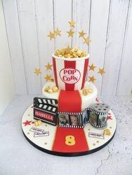 Movied themed Birthday Cake
