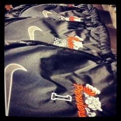 Custom Nike Cinch Sacks for the Prowlers