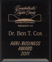 2011 Agri-Business Award