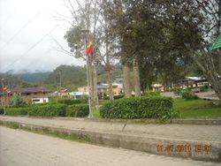 Mindo town square,