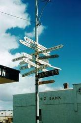 037 Sign Post Ararat 1956
