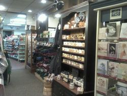 Small glimpse of the Gift Store