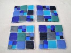 Four Glass Coasters