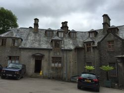 Endsleigh - The back of the house
