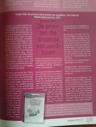 Artikel in onderwijsblad 'Zone'.