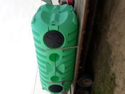 Double compartment septic tank 1250 gal