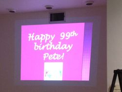 Pete's 99th!