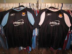 Reebok 2006/07 away shirt samples