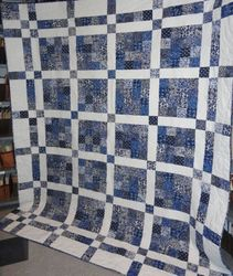 """2011 Opportunity Quilt """"Blue Moon"""""""