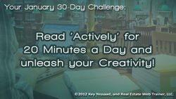 Read Actively for 20 Minutes a Day