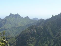 Mountains in the North of Tenerife