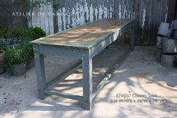 #24/037 Country Pine Table