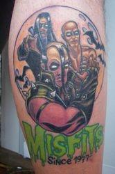 Jason's Misfits tribute.