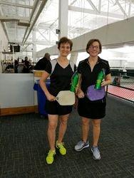 Cindy Boudreaux and Jeannie Breton