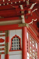 Pagoda Detail 2, Japanese Tea Garden