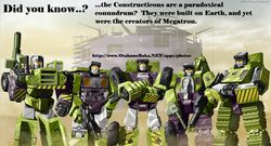 Did You Know the Constructicons were a Paradoxical Conundrum?