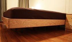 Floating Platform Bed