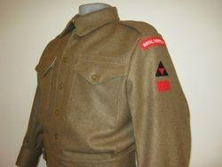 40 Pattern BD blouse £125 green serge