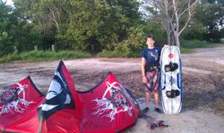 Xander - Kiss The Sky Kiteboarding kitesurfing