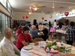 The Lao Ministry Valentines Day luncheon